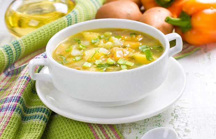 Vegetable Soup Recipe for Weight Loss