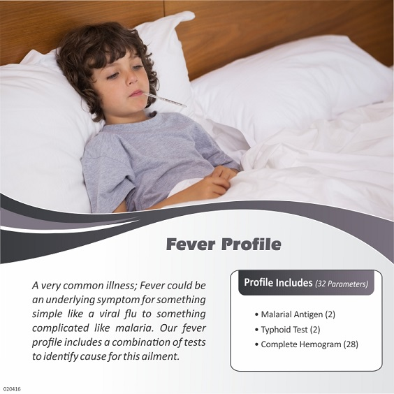 FEVER PROFILE ( 32 Tests )