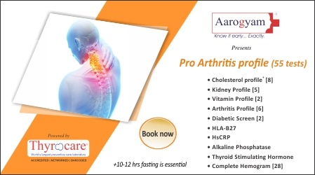 Pro Arthritis Profile ( 57 Tests)