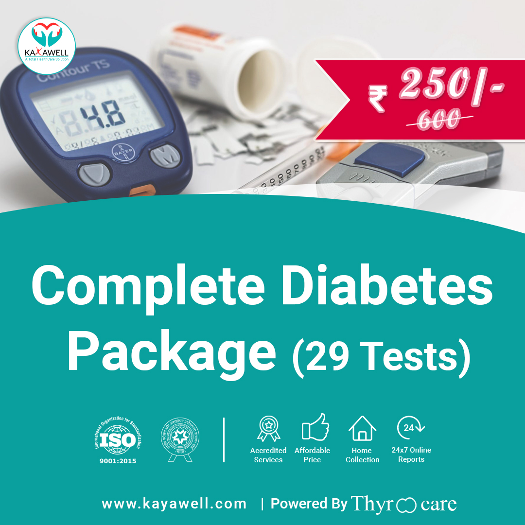 Diabetic panel (29 Tests)