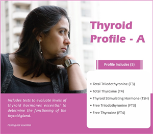 THYROID PROFILE - A ( 5 Tests )