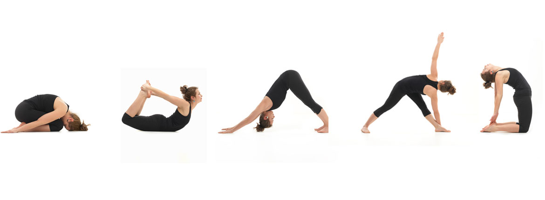 5 yoga poses
